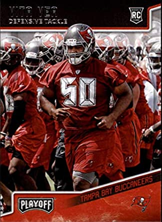 super popular faa72 6881c Amazon.com: 2018 Playoff Football #244 Vita Vea SP RC Rookie ...