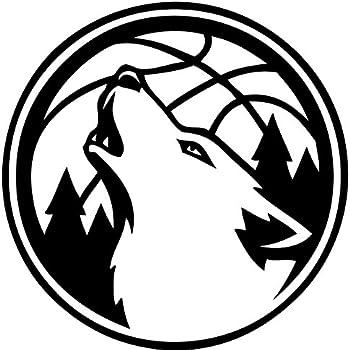 Amazon Com Tdt Printing Custom Decals Minniesota Timberwolves
