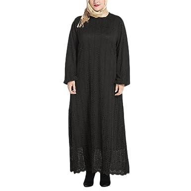 2a56699e6fe95 Zhuhaitf À La Mode Musulmane Islamique Abaya Robe Dentelle Caftan Robes  Femmes Dubai Kimono Jalabiya Grande