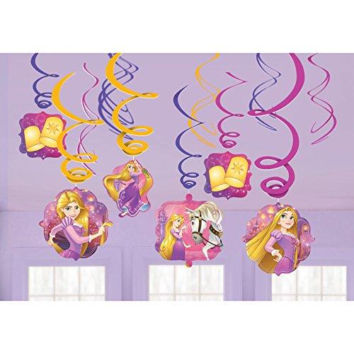 Amscan Tangled Swirl Decorations Hanging