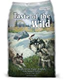 Taste of the Wild Grain-Free Pacific Stream Dry Dog Food for Puppy, 30-Pound Bag, My Pet Supplies