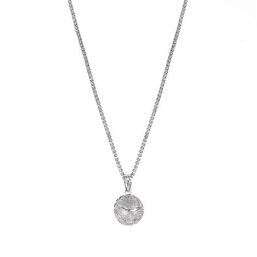 WEILYDF - Collar con Cadena de clavícula, Unisex, diseño clásico ...