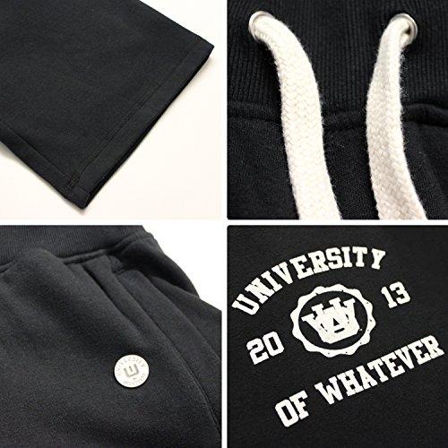 UOW - Pantalón deportivo - para hombre Negro - negro