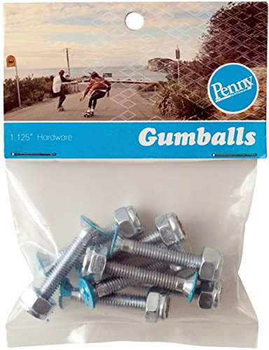 Penny Phillips Gumball Blue Skateboard Hardware Set - 1.125'' by Penny