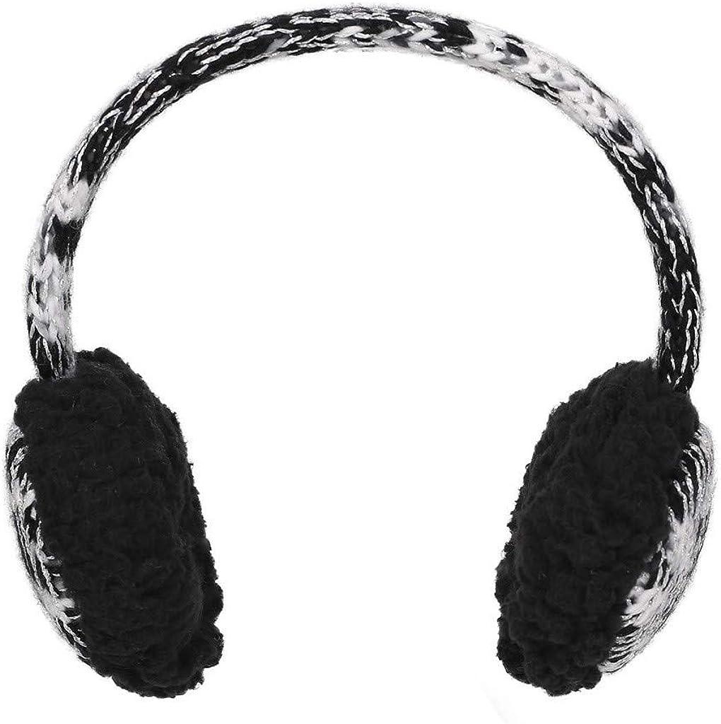 FIRSS Karikatur Warmer Ohrensch/ützer Strick Winter Ohrenklappe Verstellbar Ohrenw/ärmer Vlies Volle Abdeckungs Ohrenband Earmuffs Outdoor