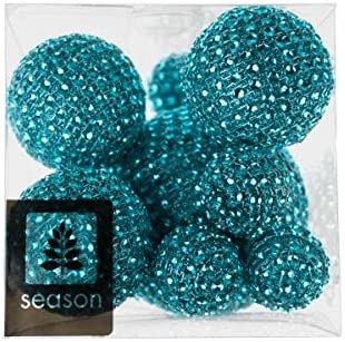 8cm grün Box Season 10 Diamantenbälle 3cm Deko Kugeln DIAMOND D 5cm
