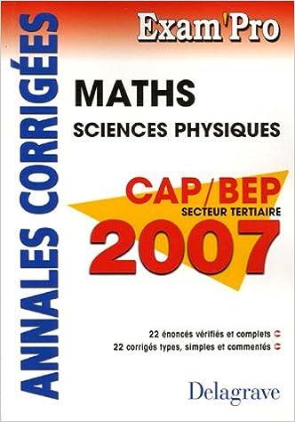 ebooks pour kindle gratuitement Mathématiques CAP/BEP secteur tertiaire : Annales corrigées 2206010437 by Jean-Charles Juhel CHM