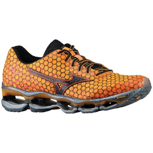 low priced 7c0b0 4af1d MIZUNO Mens Wave Prophecy 3 Running Shoes - Size  8.5, Marigold black