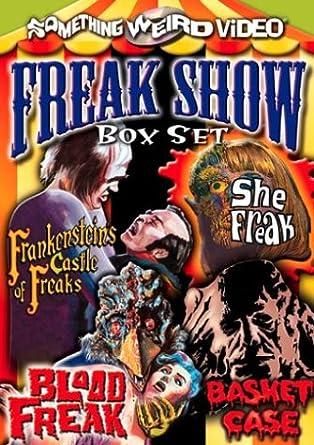 Amazon com: The Freak Show Box Set (Frankenstein's Castle of