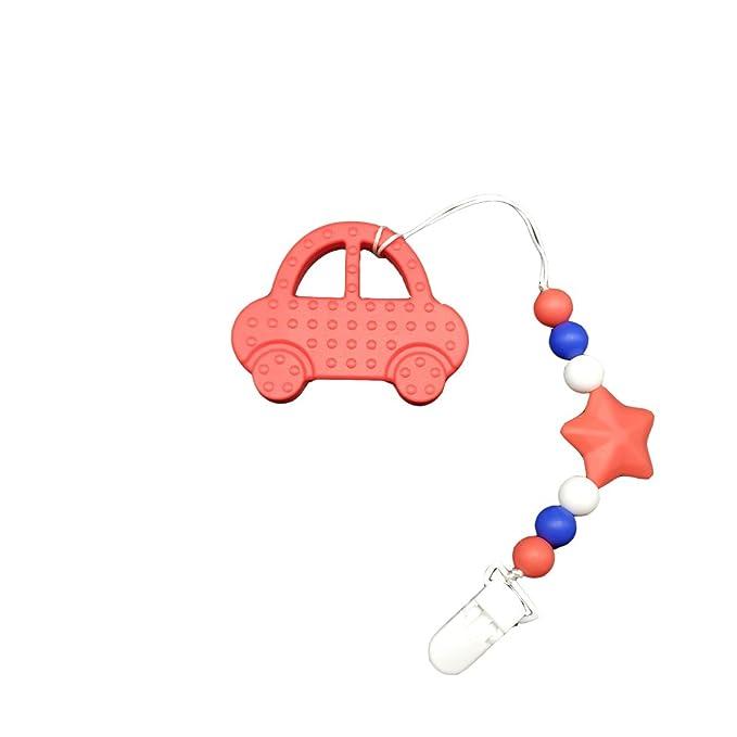 Juguete INCHANT suave silicona de coches Mordedor con silicona ...