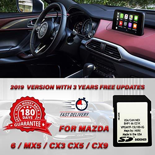 CleverDeal 2019 Mazda Navigation SD Card BHP166EZ1K 3 6 CX-3 CX-5 CX-9 USA/CAN/MEX/PR
