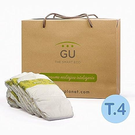 GU Pañales Ecológicos Desechables T4-28 Unidades