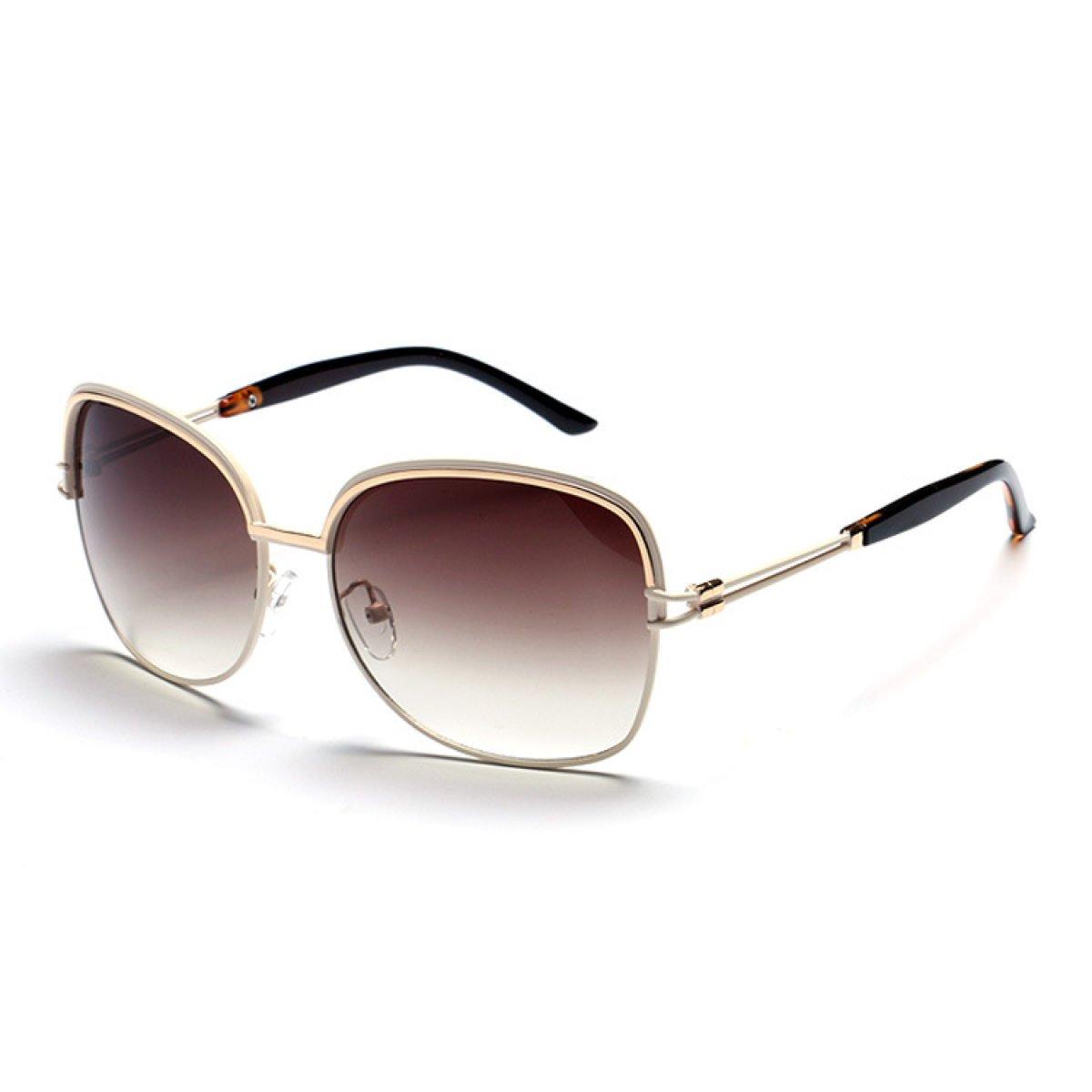 Wkaijc Retro Mode Sonnenbrillen Mode Persönlichkeit Bequem Kreativ Farbfilm Sonnenbrillen ,B