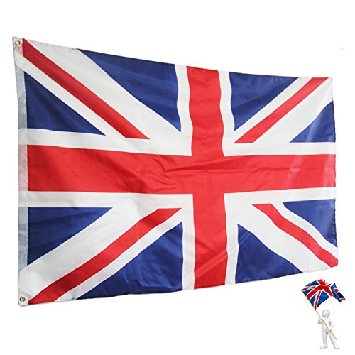 72f49add8 Rhungift 3X5 FT Outdoor Union Jack Flag. UK Flags Breeze Vivid Color and UV  Fade