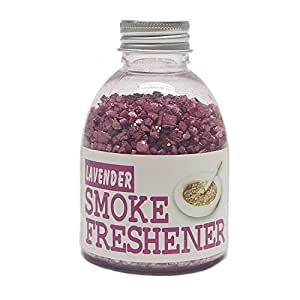 Fujima Smoke Freshener Ashtray Smoke and Odor Exterminator Granules (Lavender)