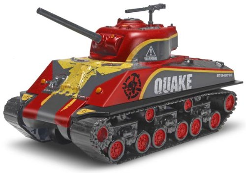 Revell Combat Crushers Quake Sherman Tank Plastic Model Kit
