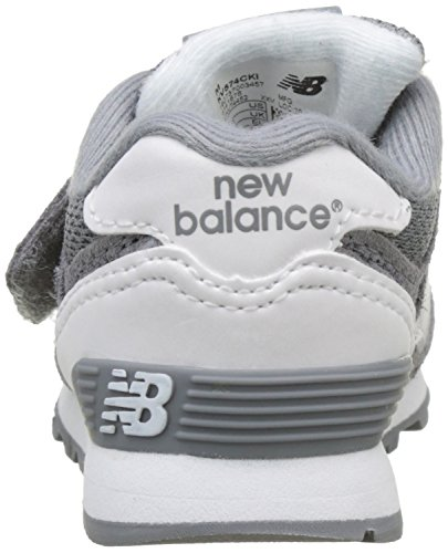 and Kv574cki Kinder M Teal White Hook Loop Unisex Sneakers New Balance Grey qwYCa6H