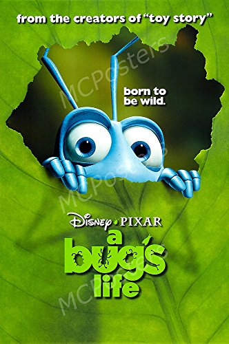 MCPosters Disney A Bug's Life GLOSSY FINISH Movie Poster - MCP186 (24