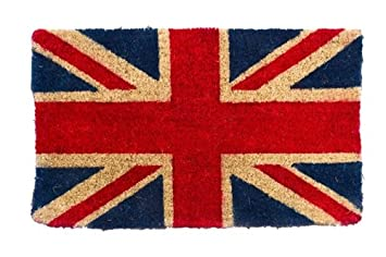 Union Jack Door Mat  sc 1 st  Amazon UK & Union Jack Door Mat: Amazon.co.uk: Kitchen \u0026 Home