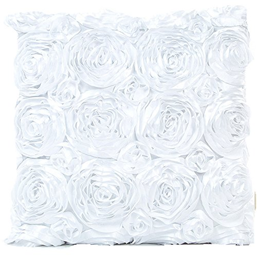 [TOOPOOT Pillowcase Sofa Waist Cushion Cover Home Decor (white)] (Pillowcase Dress Costume)