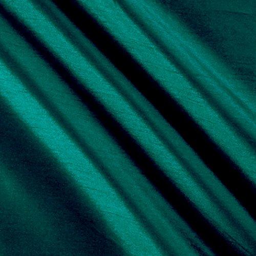 World Wide Fabric Worldly Faux Dupioni Silk Jade Fabric By The Yard