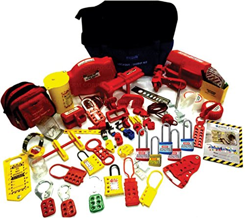 Lockout Tagout Kit (With Normal Locks) by LOTO