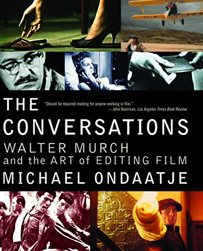 Book cover from The Conversations: Walter Murch and the Art of Editing Film by Michael Ondaatje