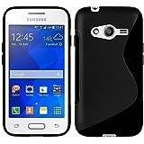 Samsung Galaxy Trend 2Lite SM-G318H: Cover in Silicone Gel Motif S-Line–Nero