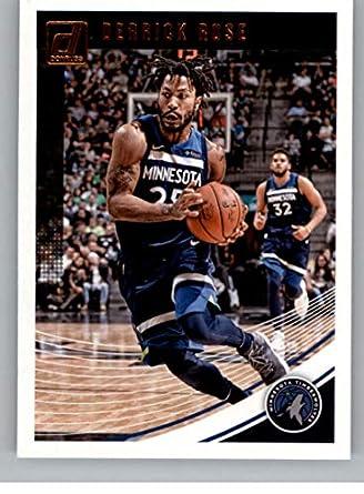 Amazon Com Basketball Nba 2018 19 Donruss 125 Derrick Rose 125