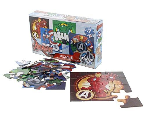 Marvel Avengers Four Puzzle Cardinal