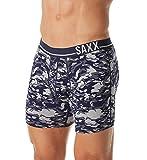 SAXX Underwear Co. 3 Six Five Boxer Heather Camo/Navy Mens Boxer