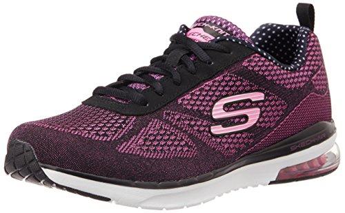 Skechers Air Infinity - Zapatillas Mujer Negro (noir/rose)