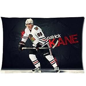 "Patrick Kane Chicago Blackhawks Hockey Custom Pillowcase Cover Two Side Size 16""x24"""