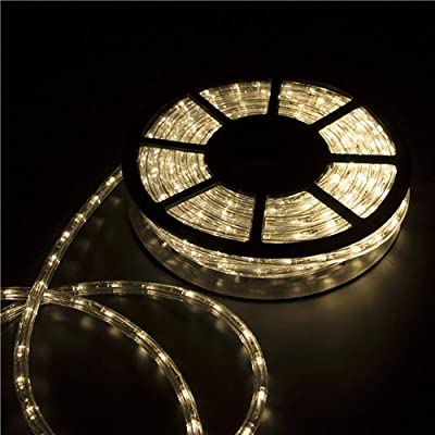 Wonlink 50ft 2 Wire Led Rope Light for Party Chrismas