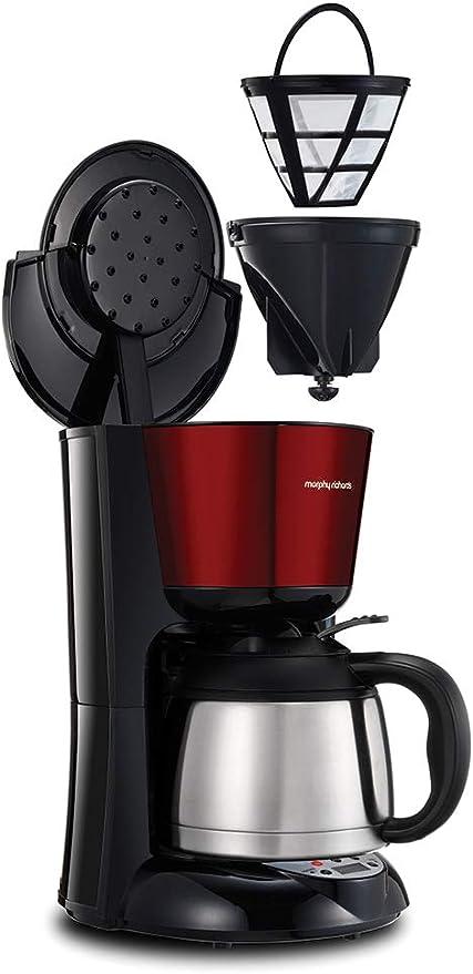 Morphy Richards Filter Kaffeemaschine Mit Temporizador, Vidrio ...