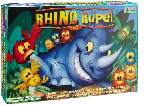 Rhino Rampage Game (Rampage Board)