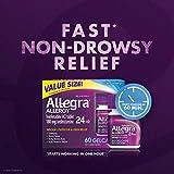 Allegra Allergy 24 Hour Gelcaps 180 mg 60 Count