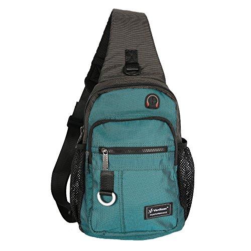 Vanlison Crossbody Sling Bag Backpack for Men & Women Lake B