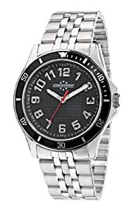 Chronostar Sportwear R3753159025 - Reloj de caballero de cuarzo, correa de acero inoxidable color negro
