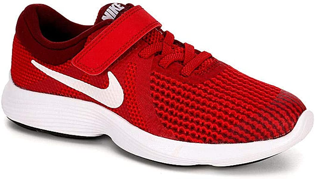 ab89565bd96 Nike Kids  Revolution 3 (TDV) Running Shoe Track White University red