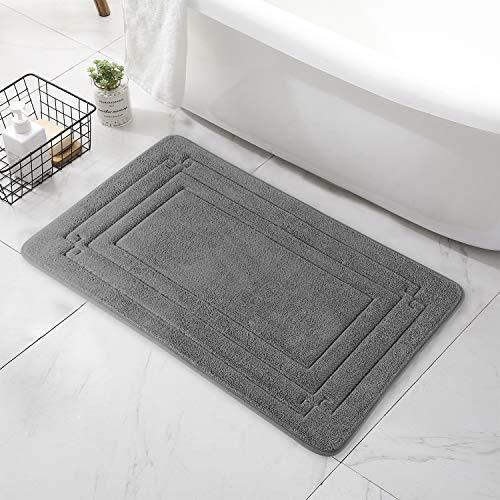 Bath Mats for Bathroom – Bathroom Floor Mat – Cozy Bathroom Rug – Comfortable Floor Bathmat Carpet in Stylish Colors…