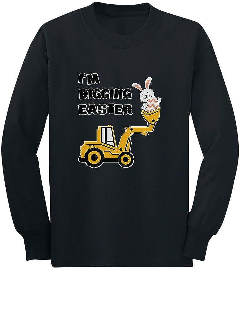 交換無料! 私はDiggingイースターギフトトラクターLovingボーイズ幼児/キッズ長袖Tシャツ 4T 4T ブラック ブラック B01MTEVNTY, エリザベス宝石:c4bc3694 --- a0267596.xsph.ru