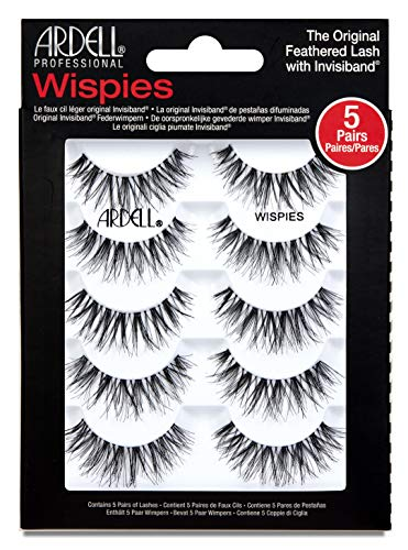 - Ardell Wispies Black Lashes - 5 Pack