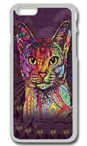 Abyssinian Cat Print Art Personalized Custom iPhone 6 Case Cover - PC Transparent