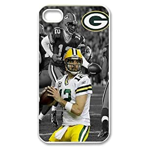 Unique Phone Case Pattern 16Green Bay Packers Aaron Rodgers Jersey iPhone Cell Phone Case Cover- For Iphone 4 4S case cover
