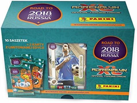 Adrenalyn XL Panini Road to World Cup 2018 - Caja de Regalo ...