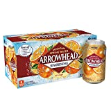 Arrowhead Sparkling Water, Orange, 12 oz. Cans (Pack of 8)