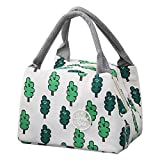 KFSO Lunch Bag Clearance Sale! Square Lunch Bag Waterproof Tote Bag Lunch Organizer Lunch Holder Insulated Lunch Cooler Bag for Women/Wen (B)