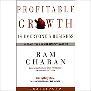 Profitable Growth is Everyone's Business Hörbuch