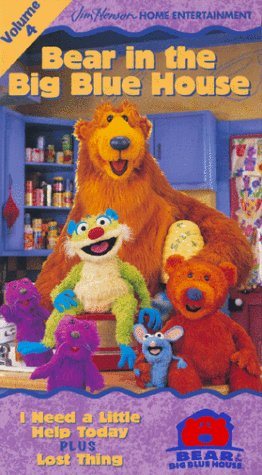 Bear in the Big Blue House, Vol. 4 - I Need a Little Help Today / Lost Thing [VHS] (Big Vhs compare prices)